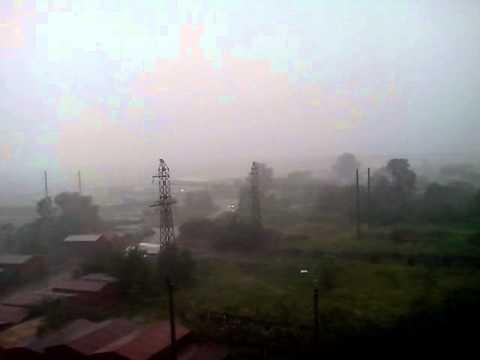 Ураган в Воронеже  Среда, 24 Июнь 2015