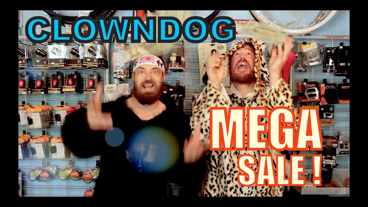 Clown Dog Bikes Mega Sale