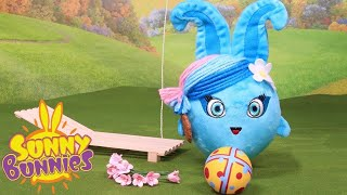 Toyplay for Children | SUNNY BUNNIES - COOKIES AND BALL GAMES | Funny Cartoons For Children