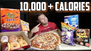 10,000 Calorie Cheat Day | Cheat Day | Johnny The Food Junkie