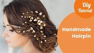 How to make wedding decoration for hair - vlog Gilda