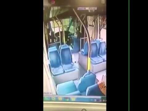 SHOCK VIDEO: Horror in Jerusalem. Surveillance footage of pure terror