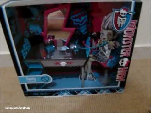 Monster High - REVIEW Penteadeira da Frankie