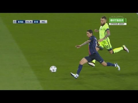 Angel Di Maria vs Manchester City (Home) 6/4/2016 HD 720p 50fps