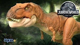 Jurassic World Thrash 'N Throw Tyrannosaurus Rex from Mattel