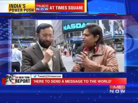 Prakash Javadekar speaks to TIMES NOW