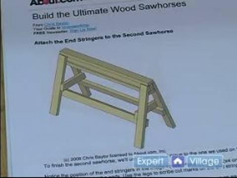 build sawhorses