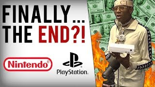 Soulja Boy's Game Consoles Shut Down AGAIN + Bizarre Rant On Nintendo Lawsuit!