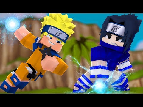 Minecraft: NARUTO VS SASUKE !! - TORRE ‹‹ P3DRU ››