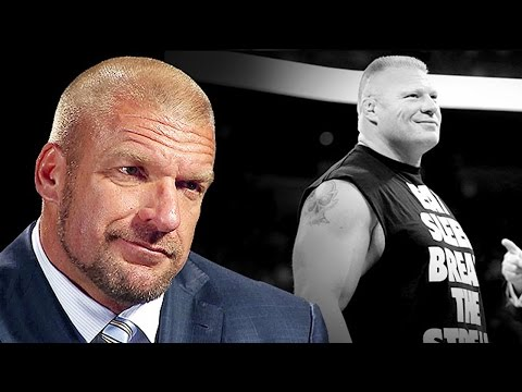 Triple H discusses the return of Brock Lesnar