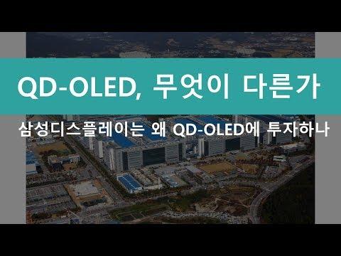 [이지인더스트리] 삼성은 왜 QD-OLED에 투자하나