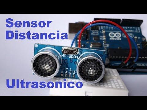 ✅ Sensor De Distancia (proximidad) Hasta 5 Metros /  HC-SR04 Y ARDUINO