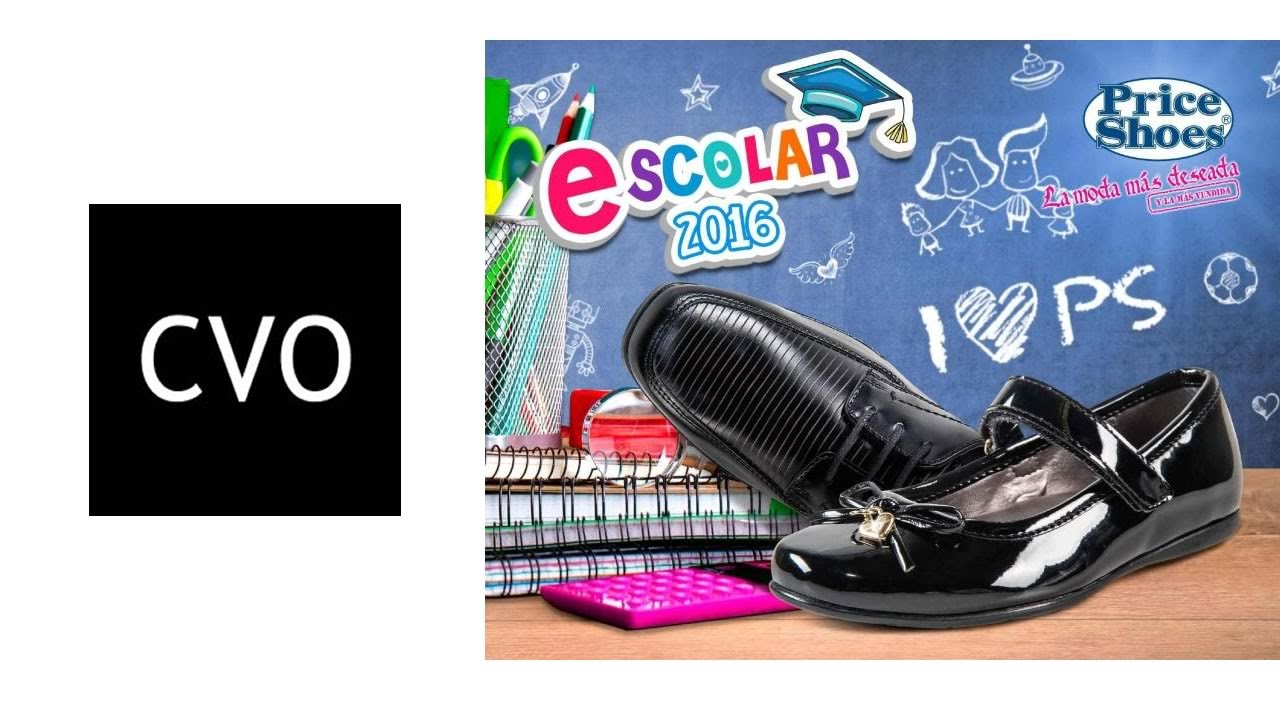 zapatos escolares para niña price shoes