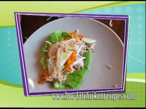 Low Fat Chicken Recipes Cheesecake Factory Thai Lettuce Wraps