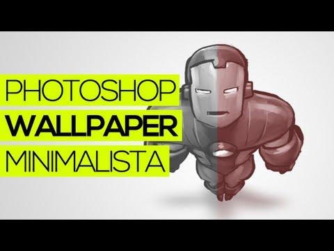 Tutorial Photoshop: Como fazer um wallpaper minimalista