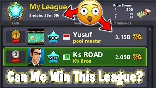 Trying to TOP DIAMOND LEAGUE in 8 Ball Pool - What Happened Next? Crazy Competition in VENICE Table