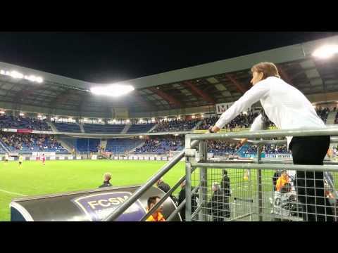 Dans la peau d'Hervé Renard ( FC Sochaux - Toulouse FC 12.04.14)
