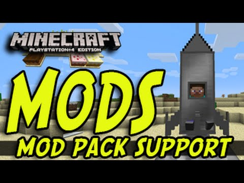 Minecraft PS3 PS4 Xbox MODS MOD SUPPORT NEWS