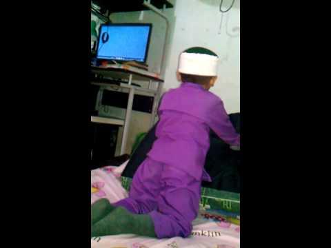 Adi (muhtadi ahmad) muroja'ah sblm audisi hafidzID