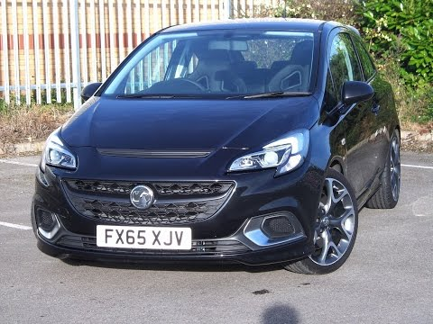 FX65XJV - Vauxhall Corsa 1.6 16V Turbo VXR 3dr in Carbon Flash Black