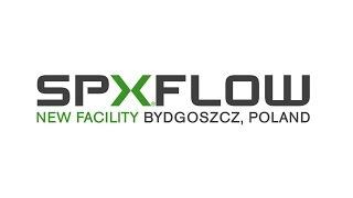 New SPX FLOW manufacturing and distribution center Bydgoszcz, Poland