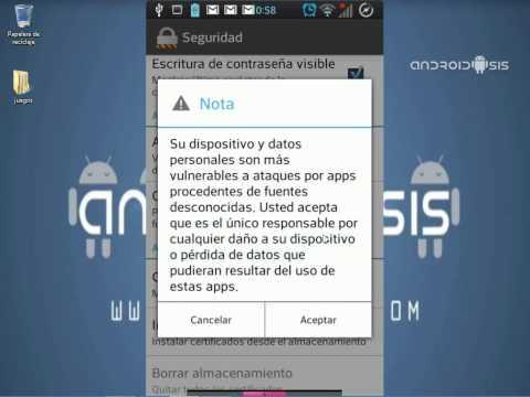 Descarga e instalación de la nueva versión del Play Store para Android