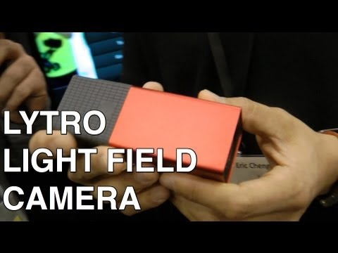 Lytro Light Field Camera: Refocus images after you take them!
