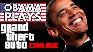 President Obama Plays GTA 5 Online