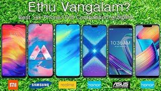 Redmi Note 7 Pro Vs Samsung Galaxy M30 Vs Asus Zenfone Max Pro M2 Vs Realme 2 Pro Vs Honor 8X/Play!