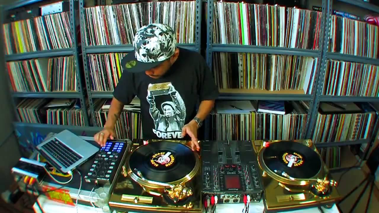 ... DJ Craze Routine Tracktor Pro and Kontrol X1 Gold Technics Turntables