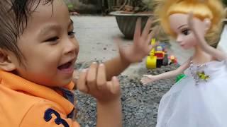 Trò Chơi Đi Cứu Búp Bê Công Chúa ❤ ChiChi TV ❤ Đồ Chơi Trẻ Em