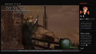 Live Resident evil 4 HD Remaster PS4  Mode Mercenaire Partie 3