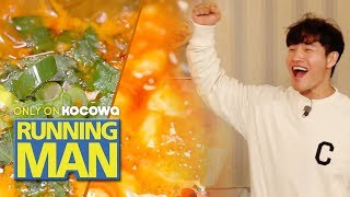 "Kim Jong Kook ""Korean food in LA is really good!"" [Running Man Ep 438]"