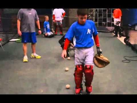 entrenamiento para catcher