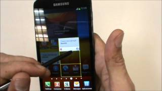 Samsung Galaxy Note:Cámara y Software[Español][HD]