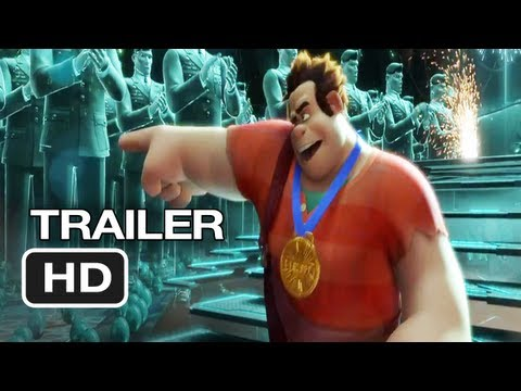 Wreck-It Ralph Official International Trailer #1 (2012) Disney Animated Movie HD