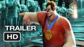 Wreck-It Ralph - Wreck-It Ralph Official International Trailer #1 (2012) Disney Animated Movie HD