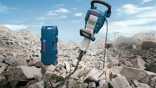 Bosch Blue Professional Power Tools - GSH 16-30 Demolition Hammer - 41 Joules & 13 tons removal/day