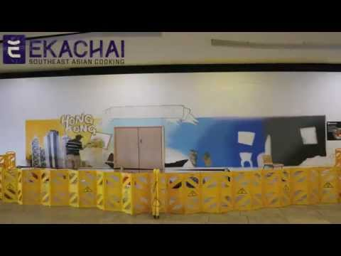Win 1 of 500 meals! Ekachai Interactive Wall in Wandsworth