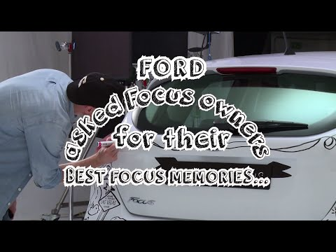 Behind the Scenes: New Ford Focus - Celebrating Memories