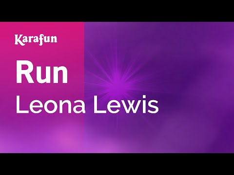 Karaoke Run - Leona Lewis *