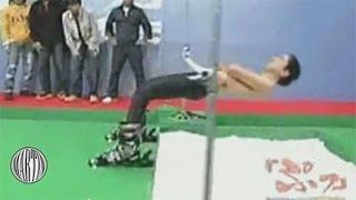 Japanese Guy Limbos Thug Life