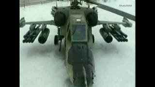 New-2009 - Russian Attack Helicopter Ka-50 Black Shark vs Mil Mi-28 Havoc - HD