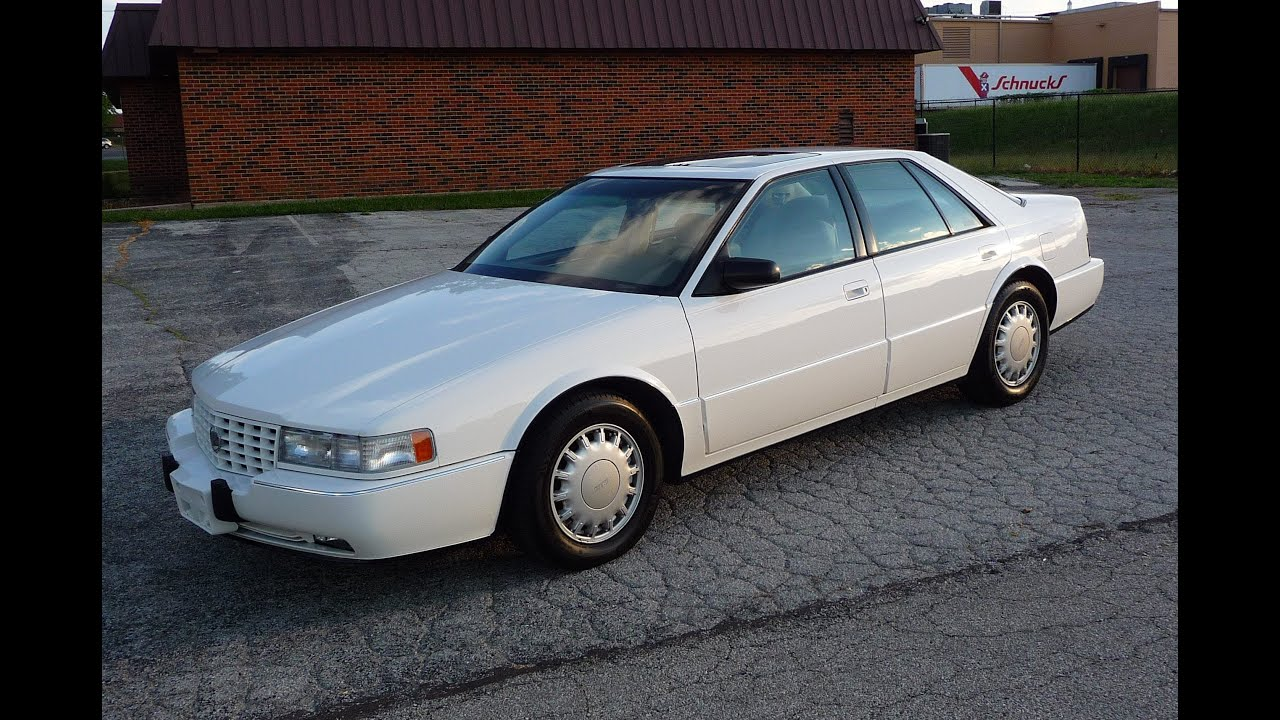 1992 cadillac seville sts only 50 000 miles test drive. Black Bedroom Furniture Sets. Home Design Ideas