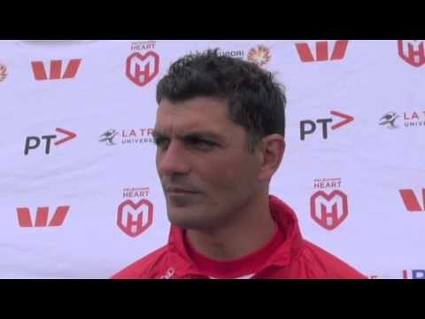 Head Coach John Aloisi speaks about injuries to Fred and Germano