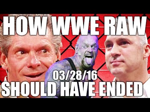How WWE RAW Should Have Ended -  03/28/16