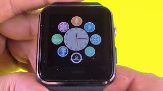 X6 SmartWatch Bluetooth Watch iOS Android Samsung iPhone SIM Smart Watch