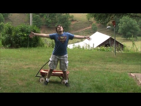 Little Red Wagon (parody Of Big Green Tractor By Jason Aldean) video