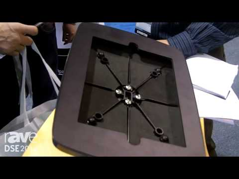 DSE 2014: A&U Display Exhibits Its Tabletop iPad Stand with 360 Degree Rotation