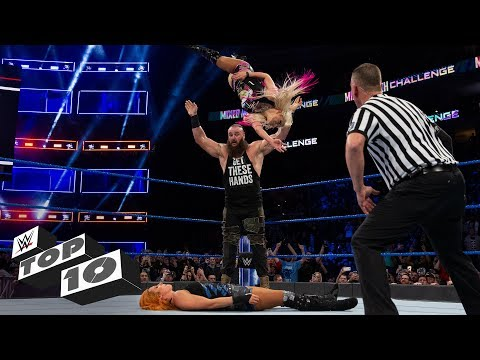 Coolest assisted finishing moves WWE Top 10, Aug. 24, 2019